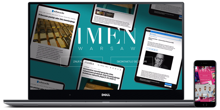 IMEN Warsaw – marketing agency website